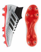 Adidas Predator 19.3 SG Football Boots Silver Size 7.5 UK - 8.5 UK