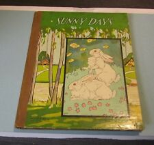 Sunny Days Short Stories for Children McLoughlin Bros. 2290 Color Pictures 1900