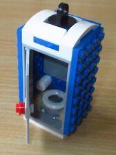 Lego City Zubehör -  1x Dixi WC - Klo ohne Aufkleber