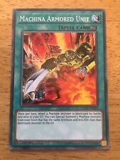 Machina Armored Unit Yugioh Trading Card LEDD-ENB19 1st Edition Spell Card