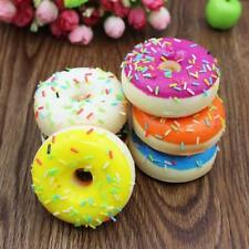 Cute Doughnut Ring Squishy Slow Rising Toys Soft Squeeze Antistress Scented Toys