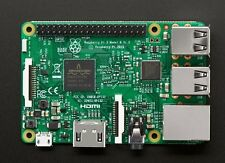 Raspberry Pi 3 Model B 1.2 GHz 64-bit quad-core ARM with WiFi & Bluetooth