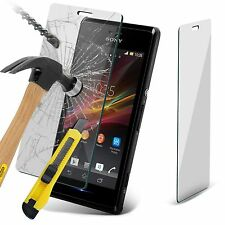 Genuine Ultra Thin Tempered Glass Screen Protector for Sony Xperia M