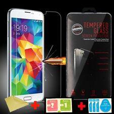 Samsung Galaxy S5 Panzerglas   Echt Glas   Härtegrad 9H   Schutzfolie Schutzglas