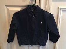 POLO RALPH LAUREN BOYS 4T NAVY JACKET SPRING/FALL GREAT CONDITION PREOWNED