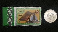Transnistria - Authentic Unused Stamp & Uncirculated Coin - Educational Gift.