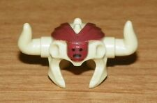 LEGO - Minifig, Headgear Headdress w/ Horns - Tan (Mola Ram)
