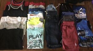 Boys Size 5/6 • Summer Clothing • 26pc Lot Bundle (Great Condition!)