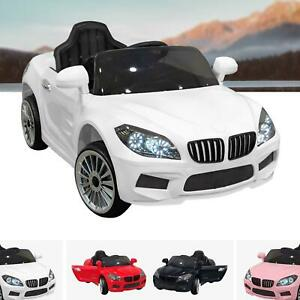 BMW Style Kids Ride On Car 12V Battery Electric Sports Car MP3 Parental Remote