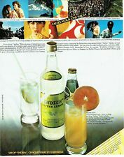 Publicité Advertising 057  1980  Sirop Indien  bitter lemon salsa