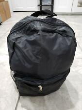 Nylon Backpack -black