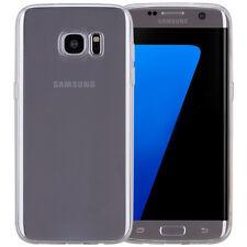 COVER Custodia Morbida TRASPARENTE GEL Silicone per Samsung Galaxy S7 EDGE