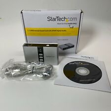 StarTech.com 7.1 USB Sound Card - External Sound Card for Laptop with SPDIF Digi
