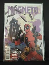 Magneto #1 2014 Series Hard-to-Find Hastings Exclusive Variant! VF/NM Deadpool