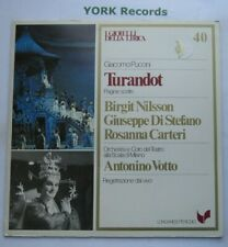 GML 40 - PUCCINI - Turandot highlights VOTTO / NILSSON / CARTERI - Ex LP Record