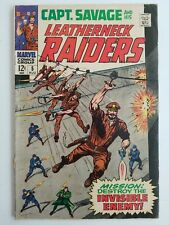 Captain Savage and his Leatherneck Raiders (1967) #5 - Very Good