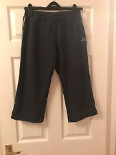 Ladies Blue Adidas 3/4 Sweat Pants - Size 12