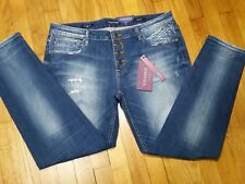 Vigoss The Chelsea Skinny Jeans Size 32 Mid Rise Medium Wash New With Tags