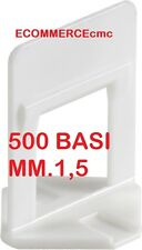 500 BASE RLS RAIMONDI LEVELLING SYSTEM 500 Pz.  BASETTA RLS 500 Pezzi !!MM 1,5!!