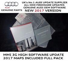 Audi Q5 Q7 MMI 3G High HDD Genuine Update SD 0257 2017 Maps 6.24.2 SD Full Pack