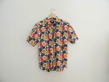 Vintage Dockers Floral Hawaiian Button Down Shirt Size 2X Xxl