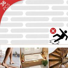 36pcs/Set Bathtub Stair Floor Waterproof PEVA Anti-skid Stickers Non-slip Tape