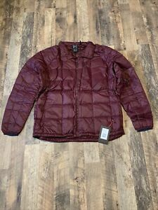 Burton Snowboards AK BK Down Insulator Jacket Port Royal Mens Sz XXL NWT $259.95