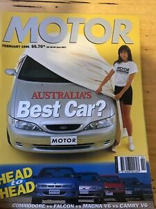 Motor Car magazine FEB 1995 T5R 750i 605 XM VIPER RAM TVR GT90 hsv 215i seat v10