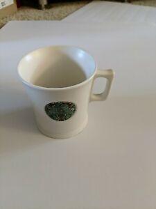 Starbucks 2014 Copper Embossed Mermaid Siren Logo Collection White Mug