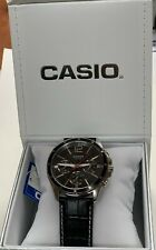 Casio  MTP-1374L-1A Multifunction  Men  Black Dial   MTP1374 +Casio Gift Box