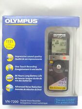 Olympus VN-7200 Digital Voice Recorder - 1151h 2GB Recording - New-