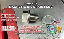 US MADE 14mm MAGNETIC OIL DRAIN PLUG @ HONDA CTX1300 ST1300 VFR1200X CBR1100XX
