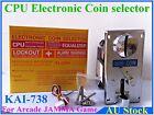 Electronic CPU Coin Selector Acceptor mech for Cherry Master arcade game