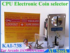 Electronic CPU Coin Selector Acceptor mech for Cherry Master arcade game