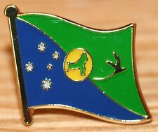 CHRISTMAS ISLAND Australia Country Flag Metal Lapel Pin Badge