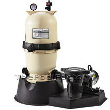 PENTAIR CC75 Above Ground Swimming Pool CARTRIDGE FILTER SYSTEM with 1HP PUMP