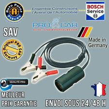 ProCar Câble Allume Cigare avec Pince 12-24V 8 A Qualité PRO