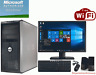 Clearance! Dell Tower Computer PC Windows 10 3.0Ghz WiFi 4GB 8GB 1TB 2TB LCD Mon