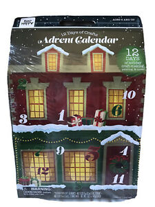 12 Days Of Craft Advent Calendar Countdown 24 Days To Christmas New 2020