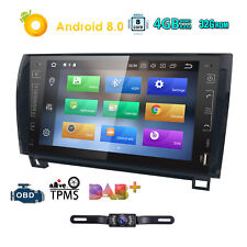 """For Toyota Tundra Sequoia 2007-2013 9"""" Android 8.0 Car Radio GPS Navi Stereo OBD"""