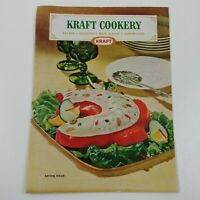 Kraft Cookery Spring Issue Vintage Ad Booklet Salads Desserts Dishes Sandwiches