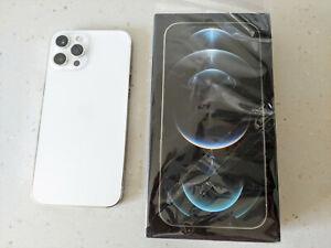 Apple iPhone 12 Pro Max - 256GB - Silver (Unlocked) Boxed - Warranty Apr 2022