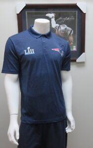 NFL Team Apparel New England Patriots LII Dri-Fit Polo Men's Golf Shirt NWT