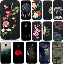 For Samsung Galaxy J3 J5 J7 2017 Slim Soft TPU Silicone Painted Back Case Cover