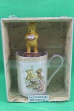 Winnie the Pooh Happy Birthday Figureine & Coffee Cup Mug Set by Royal Doulton