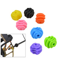 1pcs Archery Compound Bow Stabilizer Ball String Stop Suppressor Damper Bracket