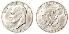 1973 S Eisenhower IKE Dollar , BU UNCIRCULATED , 40% SILVER , FREE SHIPPING!