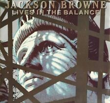 "Jackson Browne : Lives in the balance - vinile 33 giri / 12"" - 1986"
