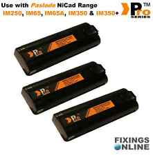 3 xPro Series replacement batteries 6v 1.5ah for paslode im350/350+/65/65A  003