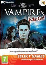 NEW Mystery Agency Vampire's Kiss PC CD ROM GAMES